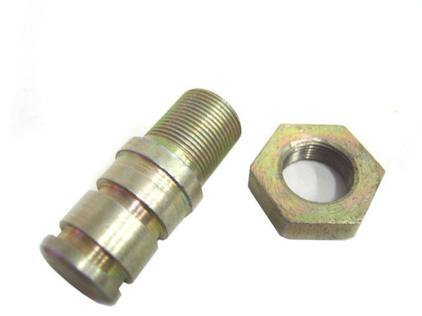 BRAND NEW EARLY ROYAL ENFIELD 350cc MODELS FRONT BRAKE SHOE PIVOT PIN & NUT AVAILABLE AT CLASSIC SPARE PARTS