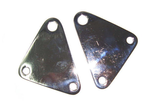 ROYAL ENFIELD BULLET SET OF GEAR BOX PLATE DOUBLE CHROMED FINISH PART NO.801020 AVAILABLE AT CLASSIC SPARE PARTS