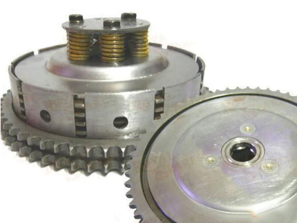 ROYAL ENFIELD 5 SPEED COMPLETE CLUTCH ASSEMBLY #550502 EXPRESS SHIPPING AVAILABLE  AT CLASSIC SPARE PARTS