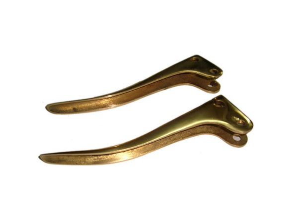 CUSTOM MADE BRASS EARLY 1950s BRAKE & CLUTCH LEVERS FITS VINTAGE BIKES AVAILABLE AT AT CLASSIC SPARE PARTS