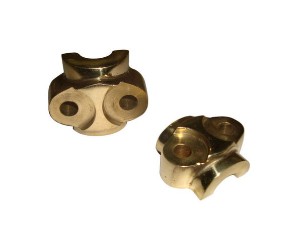 HI QUALITY CUSTOMIZED BRASS FORK LUG CAPS FOR BRAND NEW ROYAL ENFIELD AVAILABLE AT AT CLASSIC SPARE PARTS