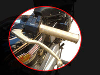 VINTAGE CLASSIC CUSTOMIZED BRASS HANDLEBAR GRIPS  AVAILABLE AT AT CLASSIC SPARE PARTS