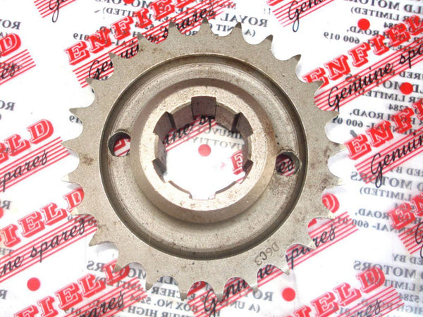 BEST QUALITY ENGINE SPROCKET 25 TEETH PART NUMBER - 110221 FOR ROYAL ENFIELD AVAILABLE AT at Classic Spare Parts