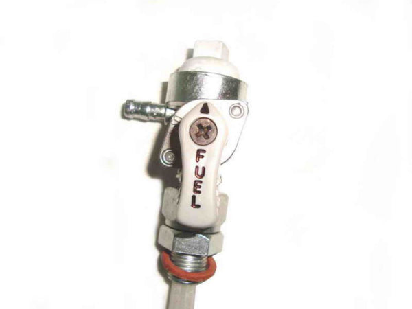 ROYAL ENFIELD COMPLETE FUEL TAP ASSEMBLY #144555 RES-ON AVAILABLE AT at Classic Spare Parts