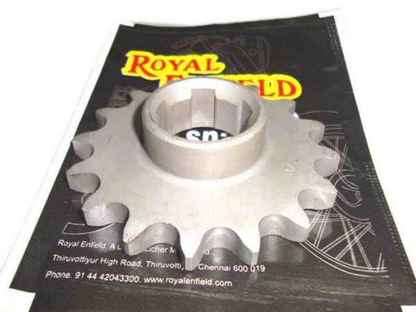 ROYAL ENFIELD FINAL DRIVE SPROCKET 16 TEETH PART NO.110267 - BRAND NEW AVAILABLE AT at Classic Spare Parts