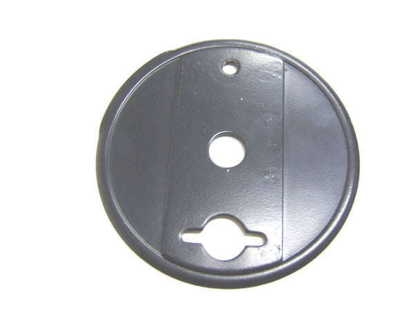 ROYAL ENFIELD REAR BRAKE BLACK COVER PLATE # 801042 AVAILABLE AT at Classic Spare Parts