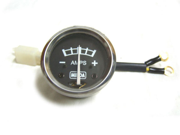 BRAND NEW ROYAL ENFIELD RARE BLACK DIAL AMMETER BRAND NEW MINDA AVAILABLE AT at Classic Spare Parts