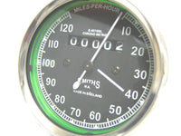 NEWLY SMITHS SPEEDO 0-120 MPH + ROYAL ENFIELD GENUINE SPEEDO CABLE -DEAL AVAILABLE AT at Classic Spare Parts