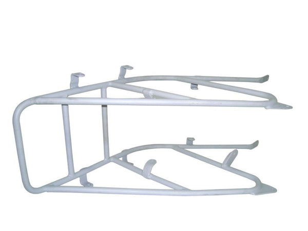 BRAND NEW TRIUMPH 3HW CUSTOMIZED REAR CARRIER READY TO PAINT AVAILABLE AT at Classic Spare Parts