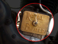 BRAND NEW BRASS TAPPET COVER WITH ROYAL ENFIELD LOGO CUSTOMIZED AVAILABLE AT at Classic Spare Parts