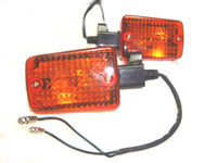 VINTAGE ROYAL ENFIELD FRONT TRAFFICATOR SET SQUARE TYPE #142789 AVAILABLE AT at Classic Spare Parts