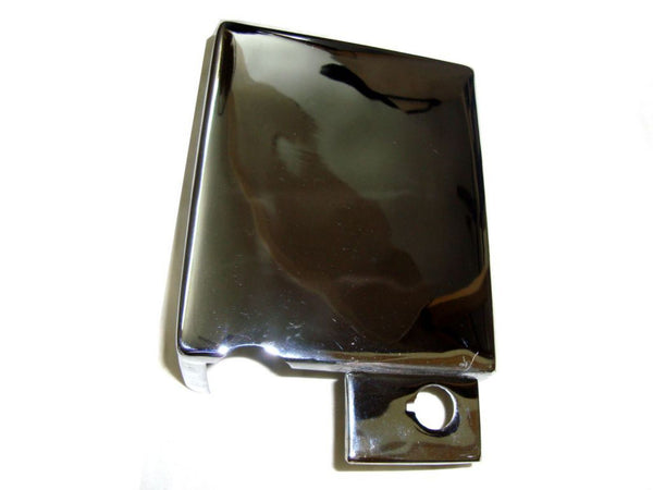 ROYAL ENFIELD NEW ELECTRIC START BATTERY COVER LOCKABLE FOR CHROMED FINISH AVAILABLE AT at Classic Spare Parts