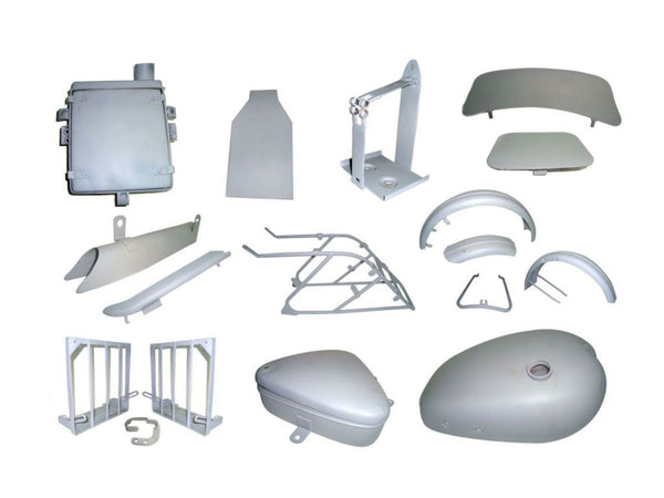 VINTAGE TRIUMPH 3HW/SW MOTORCYCLE COMPLETE BODY PARTS KIT-SUPER DEAL SAVE AVAILABLE AT at Classic Spare Parts