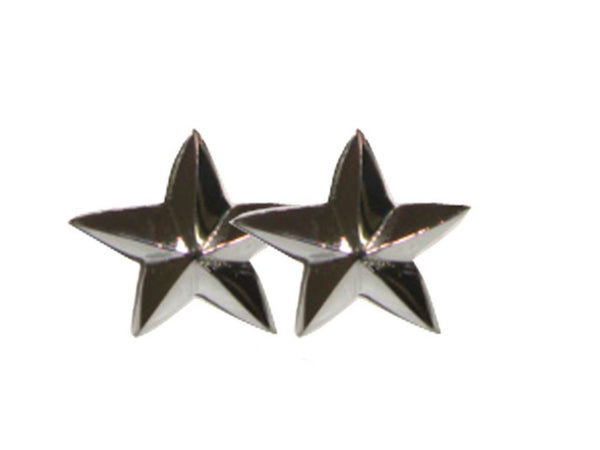 HI QUALITY NEW TRADE PACK - BRAND NEW 20 CHROMED FINISH STAR DECAL + FIXING NUTS AVAILABLE AT at Classic Spare Parts
