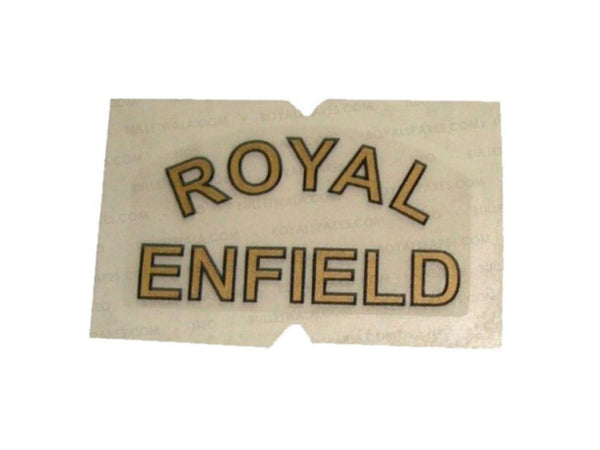 NEW ROYAL ENFIELD CLASSIC EFI C5/ 350/ 500 REAR MUDGUARD STICKER # 591180 AVAILABLE AT at Classic Spare Parts