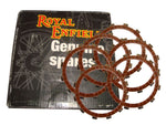 GENUINE ROYAL ENFIELD SET OF 6 CLUTCH FRICTION PLATE KIT UCE 350 MODEL -570436/C AVAILABLE AT at Classic Spare Parts