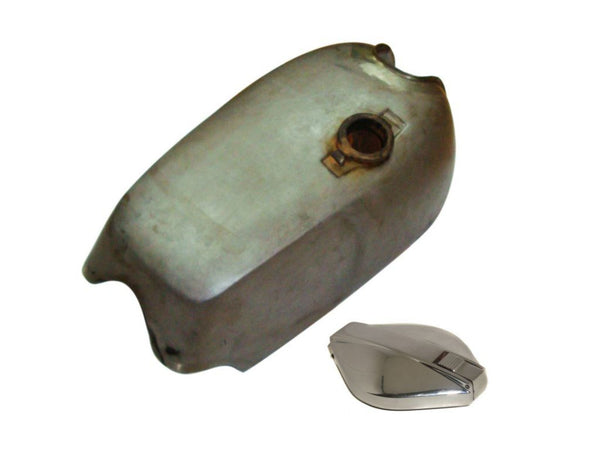 NORTON COMMANDO ROADSTER STEEL PETROL TANK WITH CHROME FILLER CAP AVAILABLE AT at Classic Spare Parts