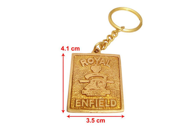 ROYAL ENFIELD BRASS KEY CHAIN BRAND NEW HIGH QUALITY SOLID BRASS AVAILABLE AT at Classic Spare Parts