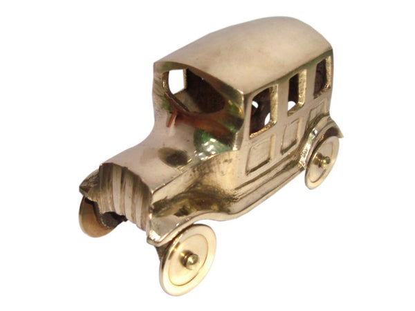 VINTAGE BRASS CAR MINIATURE SHOWPIECE HANDICRAFTS HOME DECOR GIFT COLLECTIBLE AVAILABLE AT at Classic Spare Parts