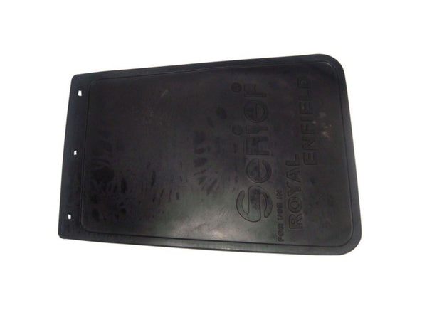 NEW REAR MUDGUARD'S RUBBER MUD FLAP WITH LOGO EMBOSSED BRAND NEW-ROYAL ENFIELD  AVAILABLE AT at Classic Spare Parts