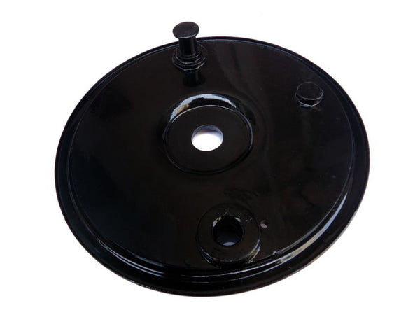 TRIUMPH W1112 REAR BRAKE PLATE BLACK PAINTED AVAILABLE AT at Classic Spare Parts