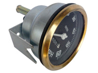BRASS BEZEL 0-60 MPH SMITHS BLACK FACE SPEEDOMETER FITS BSA/ NORTON AVAILABLE AT at Classic Spare Parts