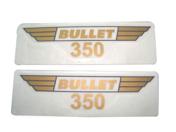 Toolbox 350 Sticker Set Fits Royal Enfield Genuine available at Online at classicspareparts