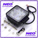 SQUARE 9 LED DC 10-30V WORK LIGHT TRUCK ATV BOAT SUV OFF-ROAD LAMP FLOOD LIGHT AVAILABLE AT CLASSIC SPARE PARTS