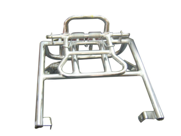 Chromed Rear Luggage Carrier Fits Royal Enfield available at Online at classicspareparts