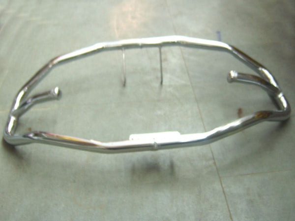 BRAND NEW ROYAL ENFIELD NEW CHROMED DIAMOND FRONT CRASHBAR AVAILABLE AT CLASSIC SPARE PARTS