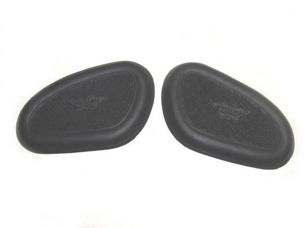 BEST QUALITY MATCHLESS PETROL TANK KNEEPAD PAIR PART NO. 93-0467 -1938-65 AVAILABLE AT CLASSIC SPARE PARTS