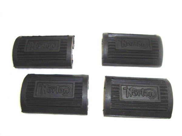 BRAND NEW NORTON FOOTREST FRONT & REAR KIT PEDAL TYPE #04-0370 AVAILABLE AT CLASSIC SPARE PARTS