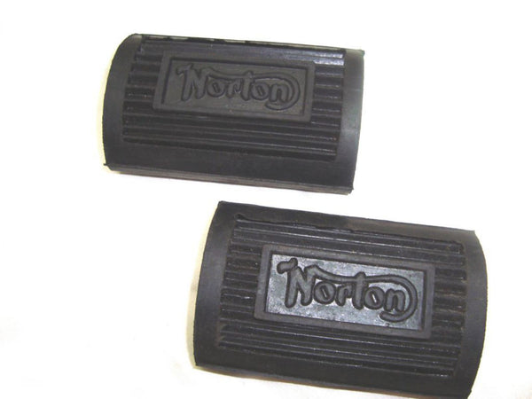 VINTAGE NORTON ES 2 16H FOOTREST RUBBERS 04-0370 UP TO 1956 AVAILABLE AT CLASSIC SPARE PARTS