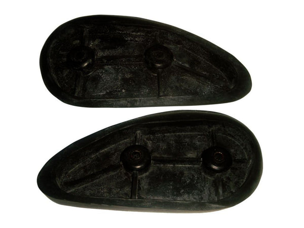TRIUMPH 3TA 5TA T100 PRE-UNIT PAIR OF BLACK KNEE GRIP PADS NEW AVAILABLE AT CLASSIC SPARE PARTS