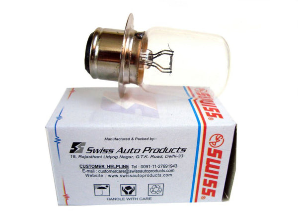 VINTAGE ROYAL ENFIELD 2 BPF HEADLAMP BULB 12v -50/40w WITHOUT SHIELD -142759 AVAILABLE AT CLASSIC SPARE PARTS