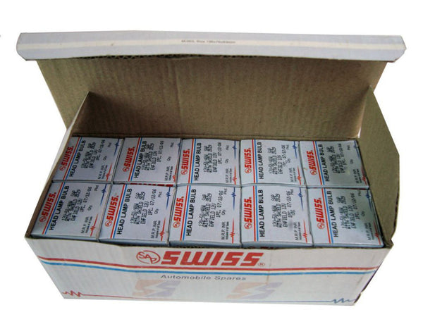 GOOD QUALITY BPF 12v-50/40w NEW HEADLAMP BULB WITH SHIELD RESELLER PACK AVAILABLE AT CLASSIC SPARE PARTS