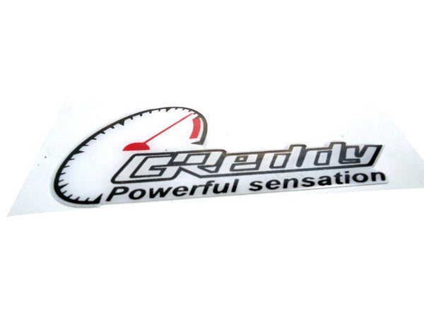 Brand New Greedy Powerful Sensation Vinyl Sticker Fits Motorcycles available at Online at classicspareparts
