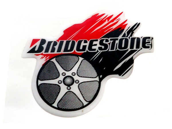 Brand New Bridgestone Decal Vinyl Sticker Fits Motorcycles available at Online at classicspareparts