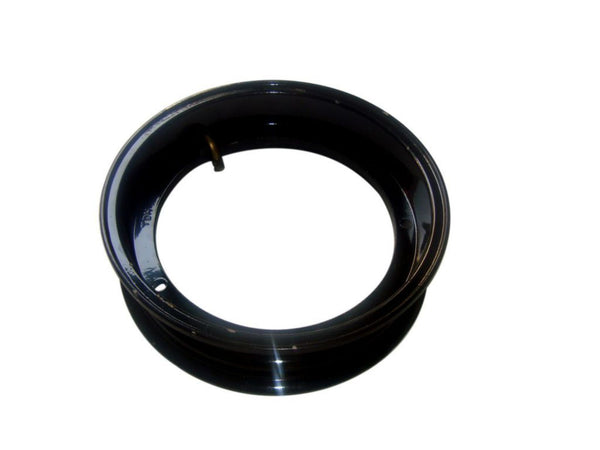 "VESPA AND LML SCOOTERS HI QUALITY 2 X 2.50/10"" BLACK FINISH TUBELESS WHEEL RIM AVAILABLE AT AT CLASSIC SPARE PARTS"