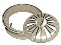 "VESPA LML SCOOTERS HIGH QUALITY  2.50/10"" DOUBLE CREAM ALUMINIUM WHEEL RIM TUBELESS AVAILABLE AT AT CLASSIC SPARE PARTS"