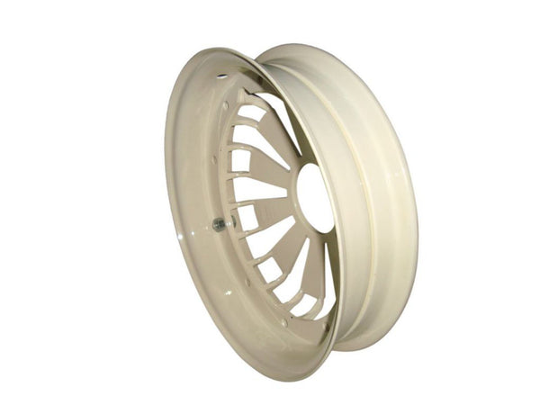 BRAND NEW VESPA SCOOTER RALLY/SPRINT MODELS 2X ALUMINIUM WHEEL RIM CREAM AVAILABLE AT AT CLASSIC SPARE PARTS
