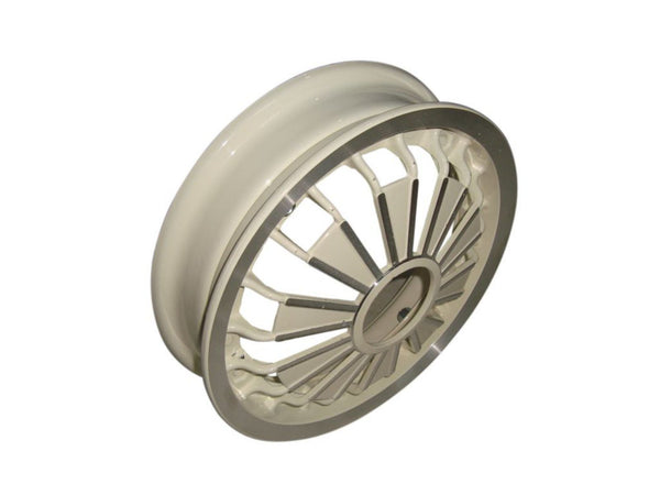 BEST QUALITY VESPA SCOOTER RALLY/SPRINT MODELS ALUMINIUM WHEEL RIM CREAM  AVAILABLE AT AT CLASSIC SPARE PARTS