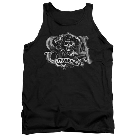 Sons Of Anarchy - Charming Ca Adult Tank