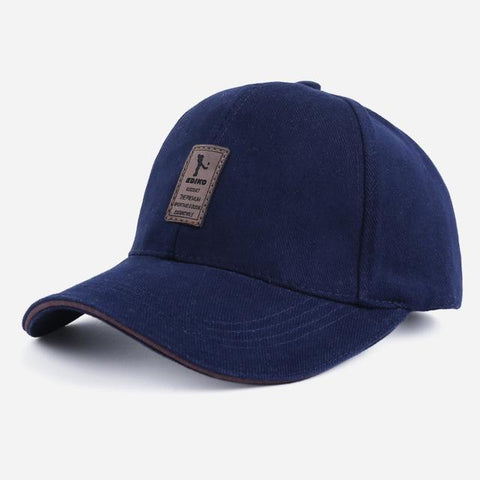 Ediko Navy - Contoured SnapBack Caps, 11 earth-tone colors - IntentionalGravity