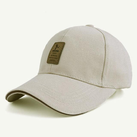 Ediko Beige - Contoured SnapBack Caps, 11 earth-tone colors - IntentionalGravity
