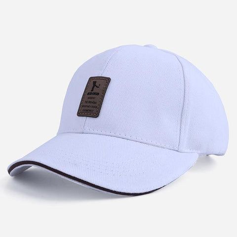 Ediko White - Contoured SnapBack Caps, 11 earth-tone colors - IntentionalGravity