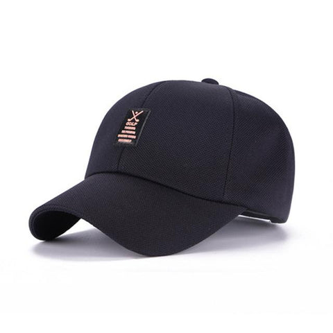 Golf Navy - Contoured SnapBack Caps, 11 earth-tone colors - IntentionalGravity