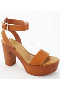 Summer Crush Platform Sandal (Tan)