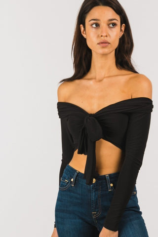 Bryton Crop Top (Black)
