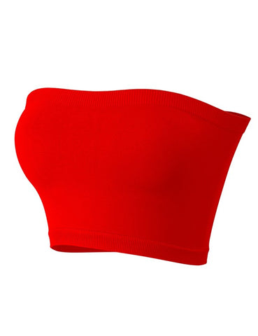 Naomi Basic Tube Top (Red)